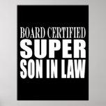 Weddings Birthdays Parties : Super Son in Law Print