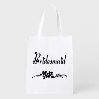 Weddings Classic Bridesmaid Grocery Bag