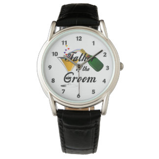 Weddings Father of the Groom Wrist Watch