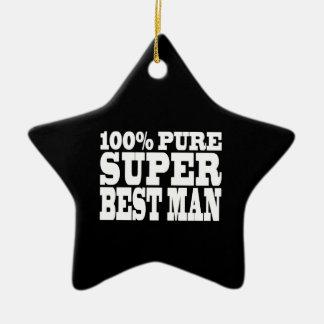 Weddings Favors Thanks 100 Pure Super Best Man Christmas Tree Ornament