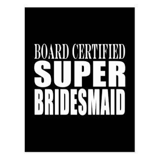 Weddings Favors Tokens & Thanks : Super Bridesmaid Postcard