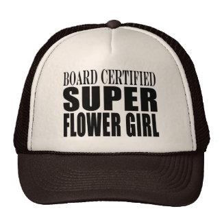 Weddings Favors Tokens & Thanks Super Flower Girl Trucker Hat
