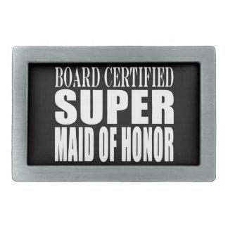 Weddings Favors Tokens Thanks Super Maid of Honor Belt Buckles