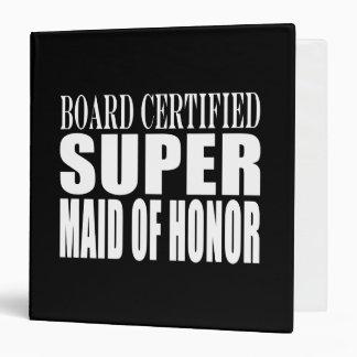 Weddings Favors Tokens Thanks Super Maid of Honor Binder