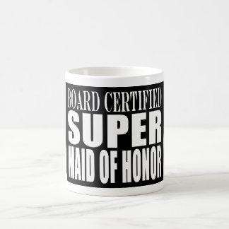 Weddings Favors Tokens Thanks Super Maid of Honor Coffee Mug