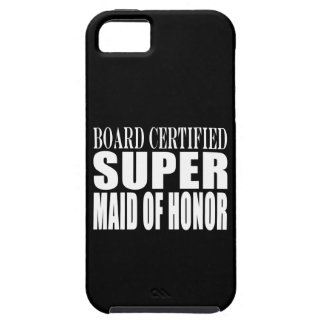 Weddings Favors Tokens Thanks Super Maid of Honor iPhone SE/5/5s Case