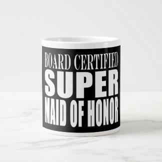 Weddings Favors Tokens Thanks Super Maid of Honor 20 Oz Large Ceramic Coffee Mug