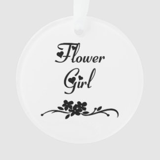 Weddings Flower Girl Ornament