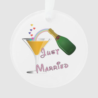 Weddings Just Married Ornament