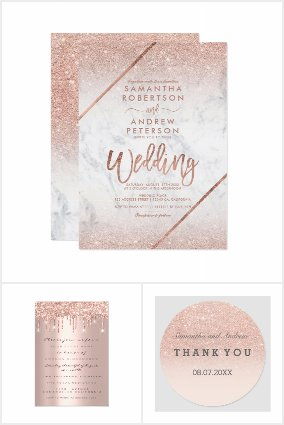 Weddings Rose Gold