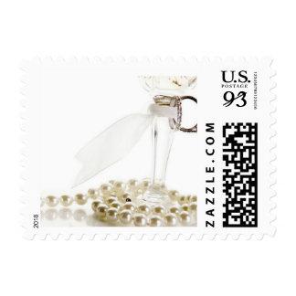 Weddings Unique Invitations Oversize Postage Stamp