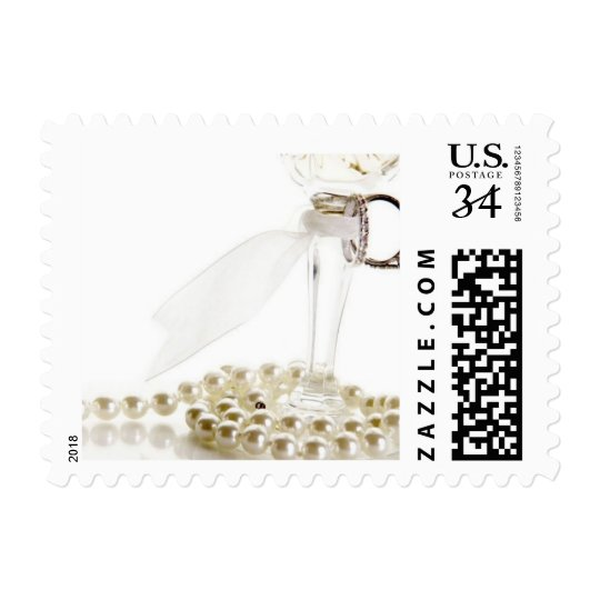 Weddings Unique Invitations Oversize Postage Stamp