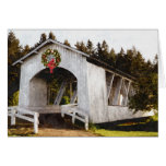Weddle Covered Bridge Christmas Greeting Cards