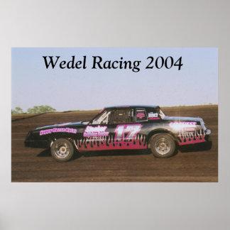 Wedel Racing Poster