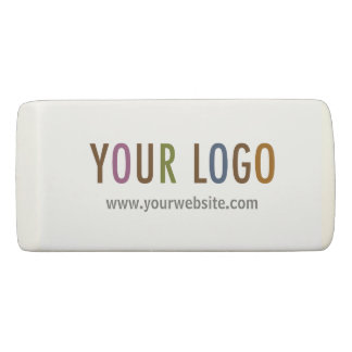 Wedge Eraser Custom Business Logo Promotional Swag