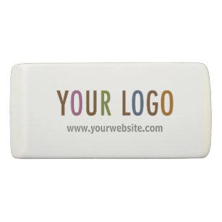 Wedge Eraser with Custom Company Logo No Minimum