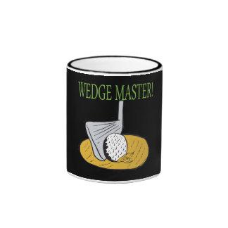 Wedge Master Coffee Mugs