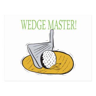 Wedge Master Postcard