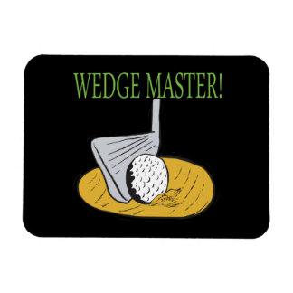 Wedge Master Rectangular Photo Magnet