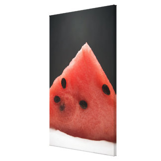 Wedge of Watermelon Canvas Print