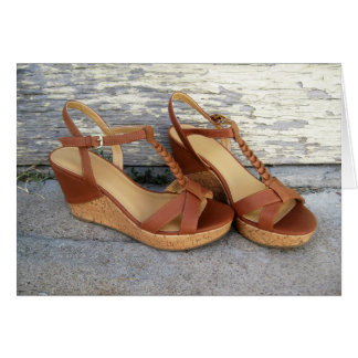 Wedge Sandals Cards