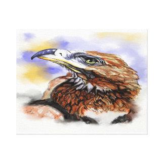 Wedgetailed Eagle Australian Bird Canvas Print