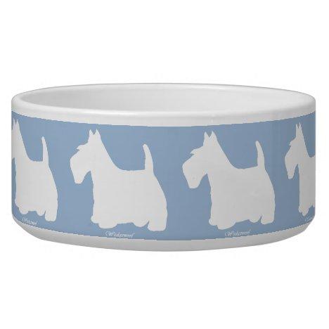 Wedgewoof Scottish Terrier Bowl