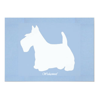 Wedgewoof Scottish Terrier Card