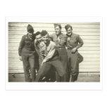 ¡WEDGIE! Postales de la foto de los años 40 del vi