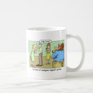 Wedgie Support Group Cartoon Gifts Collectibles Coffee Mugs