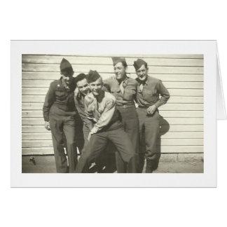 WEDGIE! Vintage 1940's Photo Notecards Card