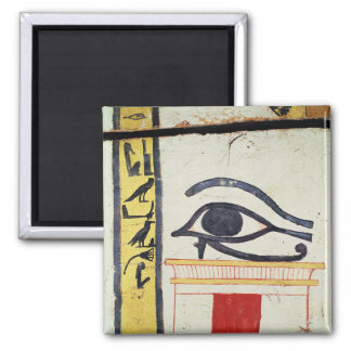Wedjat Eye, detail from the sarcophagus cover of t Magnet