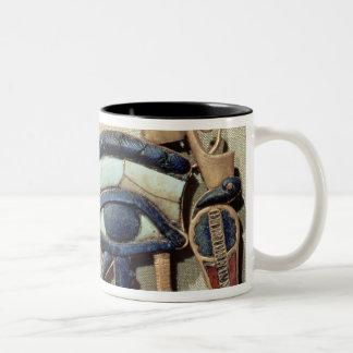 Wedjet eye pectoral Two-Tone coffee mug