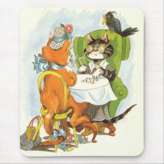 Wednesday Afternoon Cards Mouse Pads