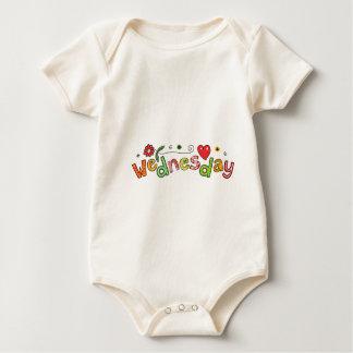 Wednesday Baby Bodysuit