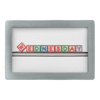 Wednesday Belt Buckle