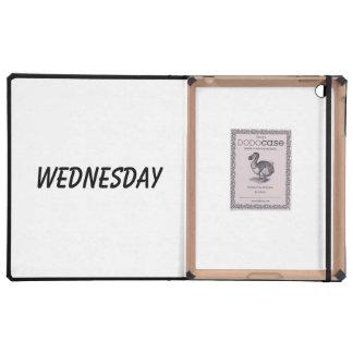 wednesday iPad folio case