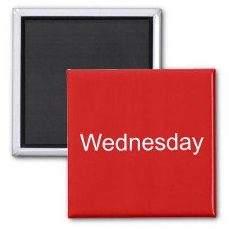 Wednesday Magnet