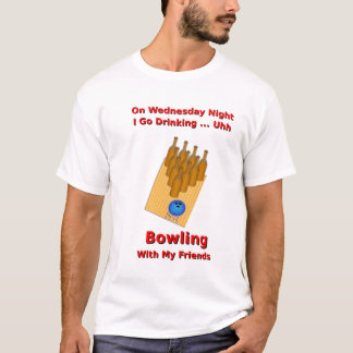 Wednesday Night Beer Bowler T-Shirt