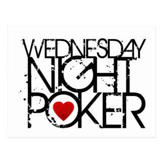 Wednesday Night Poker Postcard
