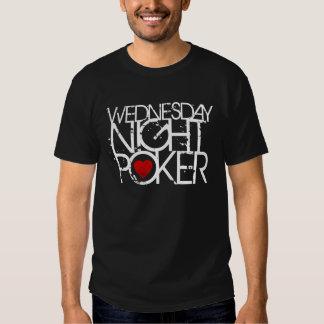 Wednesday Night Poker T Shirt