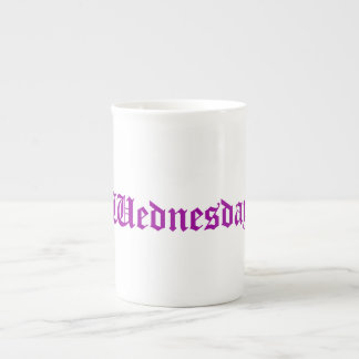 Wednesday Radiant Orchid China Mug Tea Cup