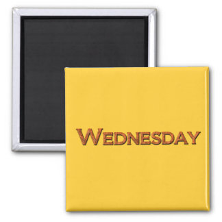 Wednesday Teaching or Memory Aid Magnet