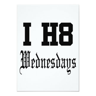 wednesdays personalized announcements