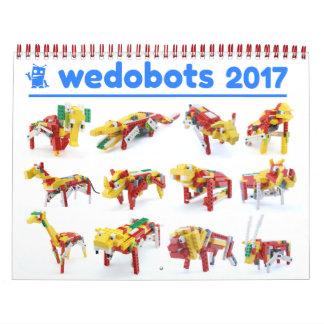 wedobots 2017 Calendar