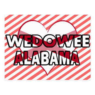 Wedowee, Alabama Postcard