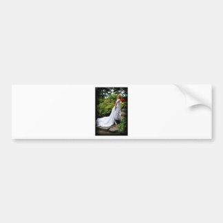 WedPoseStairsR091810 Bumper Sticker