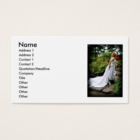 WedPoseStairsR091810, Name, Address 1, Address ... Business Card