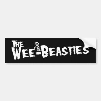 Wee-Beasties Sticker Car Bumper Sticker