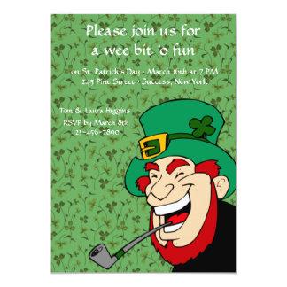 Wee Bit 'o Fun St. Patrick's Party Invitation